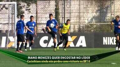 Terceiro colocado do Brasileirão, Corinthians busca alcançar o líder - Time paulista ainda não perdeu como visitante no campeonato este ano.