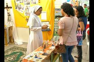 Arquidiocese de Belém promove festival para despertar vocação dos jovens - Nos estandes do Centur, visitantes têm oportunidade de conhecer trabalho desenvolvido pela Igreja Católica.
