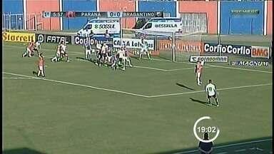 Fora de casa, Bragantino perde por 1 a 0 para o Paraná - Massa Bruta segue entre as últimas posições da Série B.