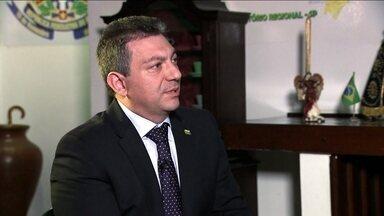 Walter Ciglioni dá entrevista ao SPTV - 2ª Edição - O candidato do PRTB ao governo paulista falou sobre suas propostas. A entrevista faz parte de uma série com os candidatos ao governo do estado que tem menos de 3% nas pesquisas de intenção de voto.