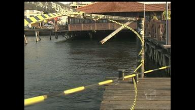 Corpo de Bombeiros pede a interdição do Terminal Fluvial Turístico de Santarém - Laudo da Vistoria foi entregue à Defesa Civil Municipal