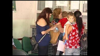 Pacientes ficam sem atendimento por falta de pediatra no Hospital Geral de Linhares, ES - O hospital não se posicionou sobre o problema, que segundo moradores, é recorrente.