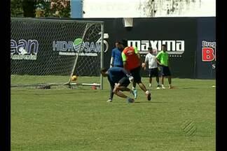 Leandro Cearense é a aposta do Remo contra o Interporto-TO - Atacante tem a responsabilidade dos gols.