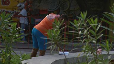 Ação Sementes do Saber distribui livros pela Praça da Várzea, no Recife - Quem foi até a área de lazer nesta sexta-feira teve uma manhã diferente.