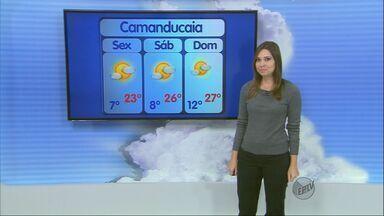 Confira a previsão do tempo no Sul de Minas para esta sexta-feira (5) - Confira a previsão do tempo no Sul de Minas para esta sexta-feira (5)