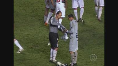 Duelo entre Sport e São Paulo marca encontro de goleiros ídolos - Magrão e Rogério Ceni se enfrentam no Morumbi pela última rodada do primeiro turno do Brasileirão
