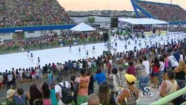 Desfile cívico comemora Elevação do Amazonas à Categoria de Província, em Manaus - 30 mil pessoas participaram do evento, segundo a Seduc.