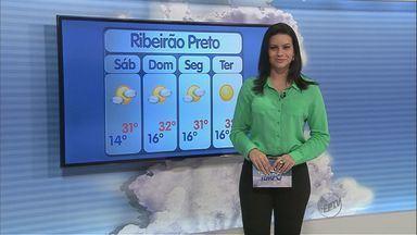 Confira a previsão do tempo para este sábado na região de Ribeirão Preto - Umidade relativa do ar prevista é de 15%.