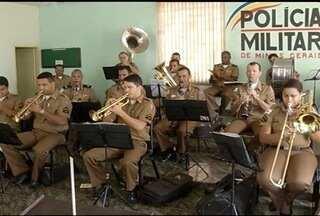 Banda da PM em Montes Claros se prepara para o desfile de 7 de Setembro - Desfile será na Avenida Deputado Esteves Rodrigues.