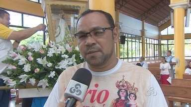 Começa mais uma etapa do círio de Nossa Senhora de Nazaré no Amapá - COMEÇA MAIS UMA ETAPA DO CÍRIO DE NOSSA SENHORA DE NAZARÉ NO AMAPÁ COM A PEREGRINAÇÃO DA IMAGEM DA SANTA. SERÃO MAIS DE TRINTA DIAS QUE A PADROEIRA DA AMAZÔNIA ESTARÁ PERCORRENDO BAIRROS E ÓRGÃOS PÚBLICOS DE MACAPÁ.