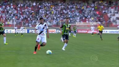 América é derrotado pelo Vasco e deixa o G-4 da Série B - Veja os melhores momentos do jogo no estádio Independência