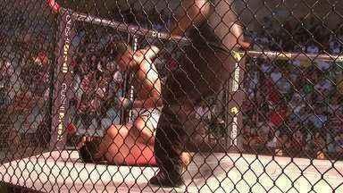 Coliseu Extreme Fight atrai milhares de pessoas em Arapiraca - Evento foi realizado no Ginásio de Esportes João Paulo II.