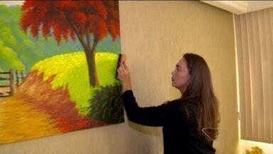 A dica é: veja como limpar a sujeira de quadros - Quadro do ESTV 1ª Edição ensina como tirar sujeira que se acumula em pinturas.