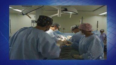 Primeiro transplante de fígado do Amazonas é realizado em Manaus - Cirurgia ocorreu na manhã deste sábado; procedimento durou cerca de 5h. Segundo Secretaria, paciente de 41 anos se recuperava na UTI.
