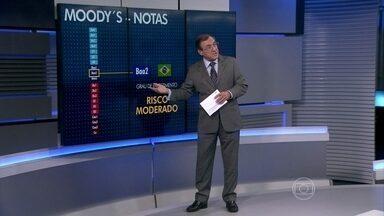 Agência Moody's muda perspectiva do Brasil de 'estável' para 'negativa' - Carlos Alberto Sardenberg comenta a alteração da nota dos títulos do governo brasileiro pela agência de classificação de risco Moody's. Ele analisa como as autoridades estão reagindo às críticas em relação à condução da política econômica.