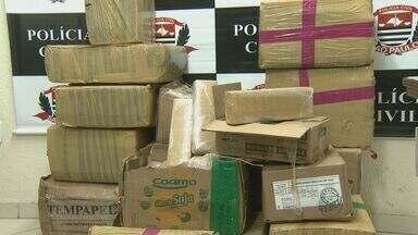 Homem é preso ao transportar 600 quilos de maconha em Indaiatuba, SP - Homem é preso ao transportar 600 quilos de maconha em Indaiatuba, SP.