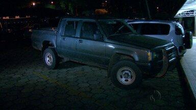 Caminhonete furtada é recuperada na Ponte da Amizade - Dona do veículo nem tinha percebido furto