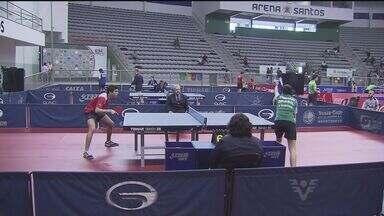 Etapa brasileira do Circuito Mundial de Tênis de Mesa é disputado na Arena Santos - Competição conta com talentos da região e grande jogadores de todo o país.