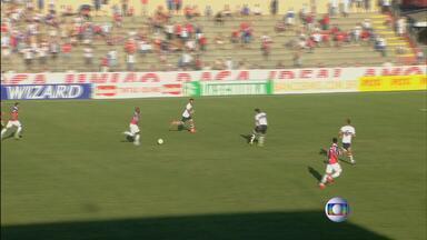 Santa Cruz pede por 3 a 2 do Paraná, em Curitiba - Time tricolor bem que tentou, mas não conseguiu a vitória.