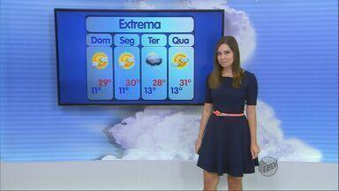 Confira a previsão do tempo no Sul de Minas para este domingo (14) - Confira a previsão do tempo no Sul de Minas para este domingo (14)