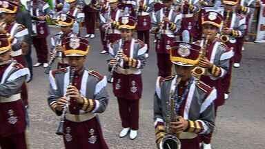 Desfile cívico ocorre no Orlando Dantas - Desfile cívico ocorre no Orlando Dantas.
