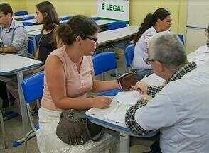 Ações de cidadania são realizadas no São João da Escócia, em Caruaru - Emissão de documentos e orientações jurídicas estiveram entre os serviços.