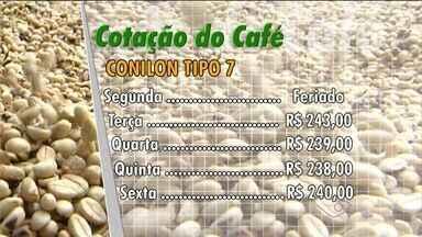 Veja como o mercado do café do ES fechou a semana - Informações são do Centro do Comércio de Café de Vitória (CCCV).