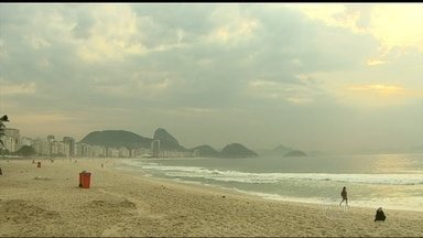 Frente fria muda o tempo no Rio de Janeiro - Uma frente fria, que está sobre o estado, deixa o céu nublado. Pode chover fraco em alguns pontos. As rajadas de vento podem chegar a 50 km/h. A temperatura máxima prevista para a região metropolitana é de 29ºC.