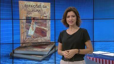 Livro 'Estações da Alma' é lançado no Recife - Obra reúne várias poesias da procuradora do Estado Karina Soares.