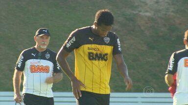 Ataque do Atlético vive jejum no Campeonato Brasileiro - Galo volta a campo contra o Goiás, fora de casa.