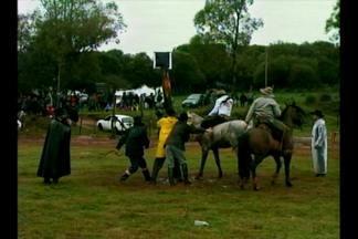 Santana do Livramento, RS sediou segunda classificatória brasileira para rodeio argentino - As provas aconteceram no Parque de Eventos Umbu e reuniram mais de mil e duzentas pessoas.