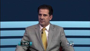 JA1 entrevista o candidato ao governo de Goiás Vanderlan Cardoso - Pessebista diz que vai comprar leitos de UTI em hospitais particulares. Antônio Gomide vai encerrar série de entrevistas, segundo sorteio.