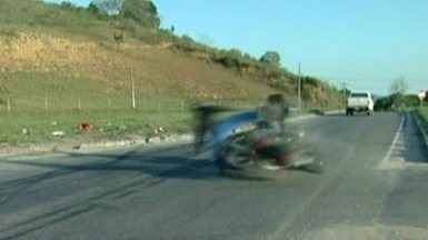 Dnit instala radares que não estão funcionando, no Sul do ES - Departamento havia prometido radares na região onde dois motociclistas se chocaram.