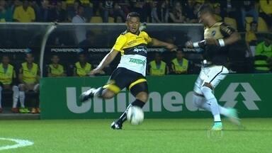 Botafogo supera desfalques, e empata com o Criciúma em Santa Catarina - Zeballos marca para o alvinegro, e Paulo Baier faz para o time da casa.