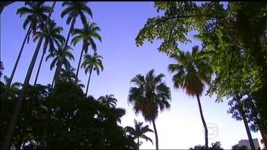 Previsão é de sol para todo o estado do Rio de Janeiro - Uma massa de ar seco deixa o céu aberto nesta quarta-feira (24). A chegada de uma frente fria deve mudar o tempo somente no final de semana. A temperatura máxima prevista para a região metropolitana é de 33ºC.