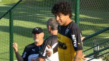 Atlético-MG vai fazer dois jogos dentro de casa, em Belo Horizonte - Amanhã, o time pega o Santos.