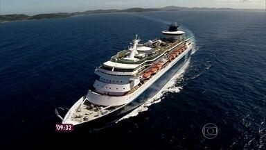 Casal ganhou viagem de cruzeiro para Curaçao - Massagem, golfinhos espetáculo e show fizeram parte do passeio