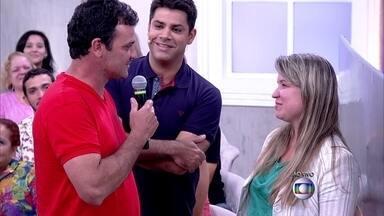 Marcelo pede Marcela em casamento ao vivo no Encontro - Fátima relembra outro pedido de casamento que aconteceu no programa