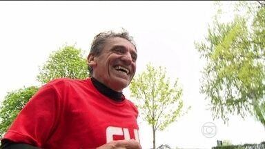 Passaporte Dourado: Veja a superação de João da Silva que disputou a Maratona de Paris - Confira a rotina de treino para correr uma maratona pela primeira vez.