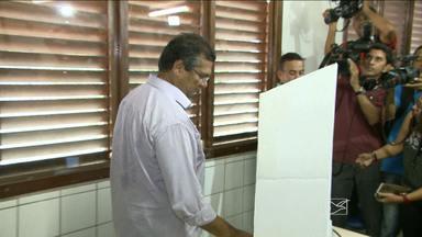 Dos seis candidatos ao governo do maranhão, cinco votaram pela manhã em São Luís - Confira no vídeo.