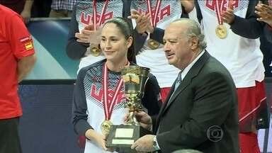 Sem surpresas, Estados Unidos conquistam título do Mundial de basquete - Equipe vence a competição pela nona vez.