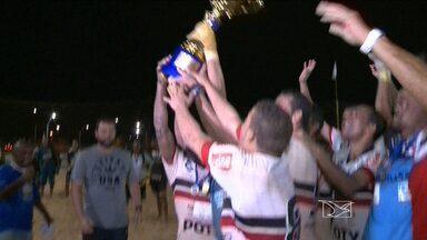 Santa Cruz é campeão da etapa de São Luís do Brasileiro de futebol de areia - Santa Cruz surpreende e derrota o Rio Branco-ES na decisão