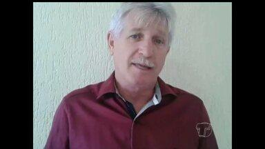 Deputado Airton Faleiro fala sobre a reeleição - Ele foi reeleito para a Alepa.
