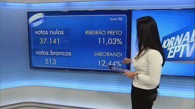 Ribeirão Preto tem maior índice de votos nulos na região - Foram 37 mil eleitores que não votaram em ninguém. Número representa 11% do eleitorado.