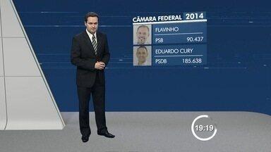 Região elege dois deputados federais - Eduardo Cury (PSDB) e Flavinho (PSB) serão os representantes na Câmara Federal.