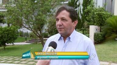 Chico Brasileiro foi o candidato a deputado estadual mais votado em Foz - Ele se elegeu com pouco mais de 50 mil votos e faz planos para a cidade, especialmente no setor de saúde.