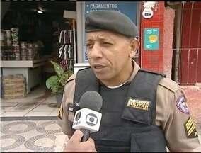Empresa é assaltada pela segunda vez em um ano em Teófilo Otoni - No local funciona um mercearia e uma casa lotérica.