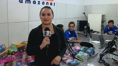 Rádio Amazonas FM lança projeto para ajudar crianças - Campanha visa arrecadar brinquedos que serão doados para crianças de uma instituição em Manaus.