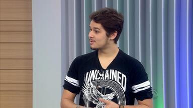 Gabriel Levan comenta sobre atuações do terceiro dia de audições do The Voice Brasil - O ex-participante conta que se impressionou com Natálie Mendes e que o rock no programa ficará por conta do gaúcho Kim Lírio.