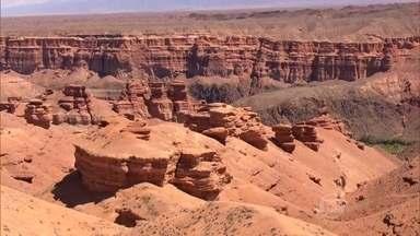 Paisagem única marca o segundo maior cânion do mundo - Cenário mais impactante é o Vale dos Castelos. Nome é perfeito para definir formações rochosas que lembram torres de construções medievais.